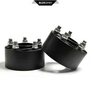 A-Pair-of-2-60mm-2-36-034-5x114-3-CB70-5-M14x1-5-Wheel-Spacers-for-Ford-Mustang