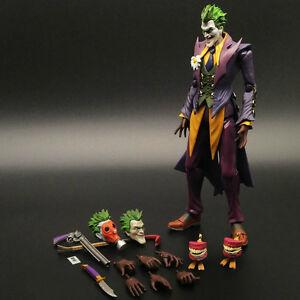 Joker batman arkham origins comic dark knight action figure image is loading joker batman arkham origins comic dark knight action voltagebd Images