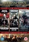 Medieval Epics - Legends Of The Sword (DVD, 2012, 3-Disc Set, Box Set)