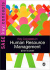 Key Concepts in Human Resource Management by John Martin (Paperback, 2010)