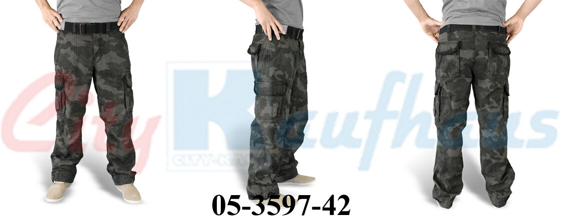 Surplus Surplus Surplus PREMIUM VINTAGE Trouser uomo Cargo Pant Pantaloni Outdoor Army BW 3597 cf8b4e