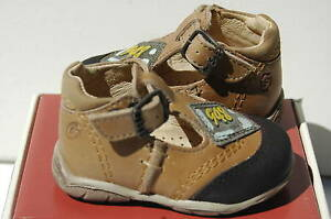 GBB-Leopold-Chaussures-Fille-Garcon-19-Sandales-Premiere-Montantes-Bebe-UK3-Neuf