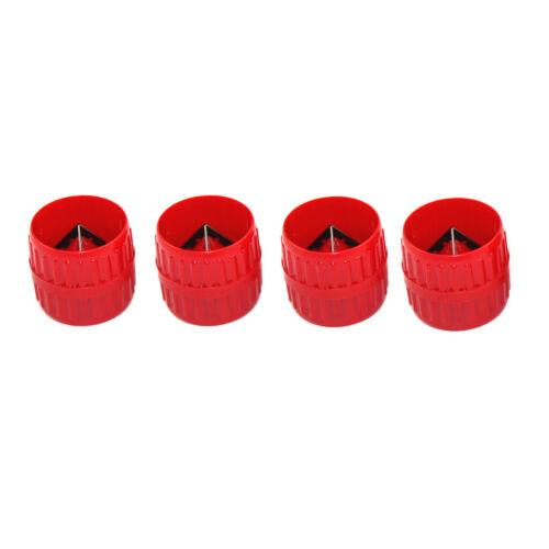 4x Internal External Tube Pipes 3-38mm Metal Tubes Heavy Duty Deburring Tool