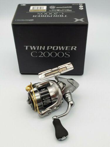 SHIMANO 15 TWINPOWER C2000S Fishing JAPAN reel