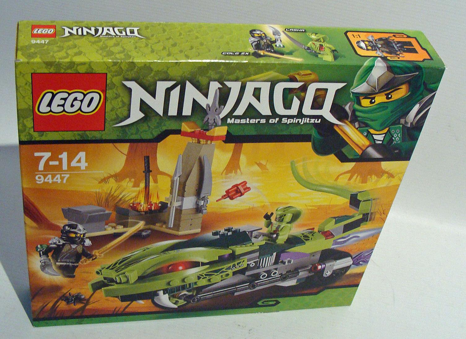 LEGO ® Ninjago 9447-lashas schlangenbike 250 pièces 7-14 ans-NEUF