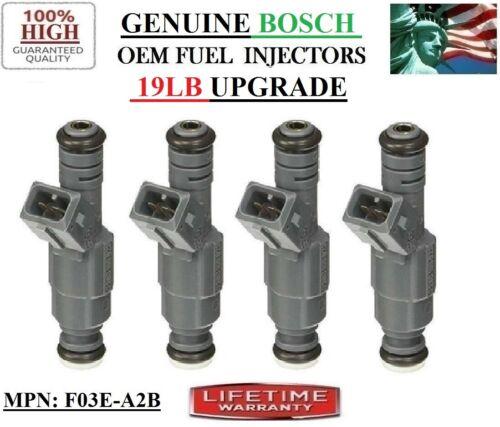x4 Refurb BOSCH UPGRADE 19LB OEM Fuel Injectors YRS 85-91 Ford Ranger 2.3L l4