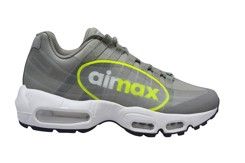 Homme Nike Air Max 95 NS GPX-AJ7183001-Dust Volt étain Blanc Baskets-