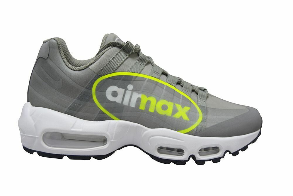 Mens Nike Air Max 95 NS GPX - AJ7183001 - Dust Volt Pewter White Trainers