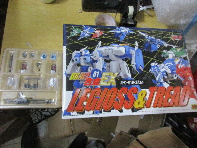 CM's Mospeada BRave Chogokin EX01 Legoiss & TRead bluee ETA Re-issue extra parts