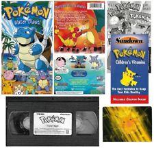 Pokemon Vol. 18: Water Blast VHS Video Tape 2000 New Sealed Inserts Motion Card