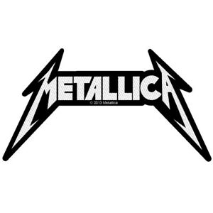 Metallica-Shaped-Logo-Patch-Official-Heavy-Metal-Band-Merch-New