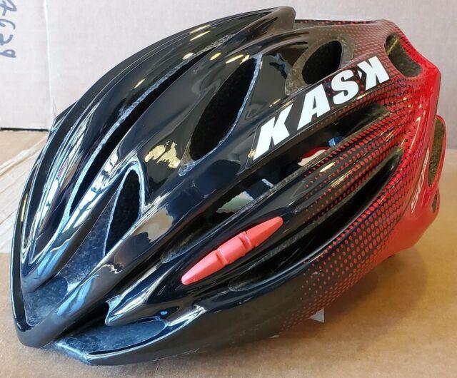 KASK MOJITO X PEAK Road Cycling Helmet Red S:48-56. M:52-58. L:59-62cm