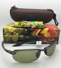 MAUI JIM MAKAHA READER POLARIZED G805-0225 SUNGLASSES BLACK//GREY LENS 2.5X