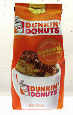 2 Bags Dunkin Donuts Caramel Coffee Cake Ground Coffee 11oz Bb Oct