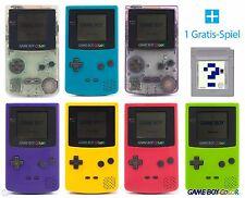 GameBoy Color Konsole (Farbe nach Wahl) + GRATIS Nintendo GB Spiel TOP!