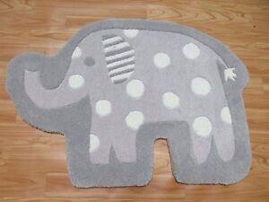2x3-Elephant-Shape-Grey-Rug-Kids-Style-Handmade-Wool-Rugs-amp-Carpet-Elephant-Toy