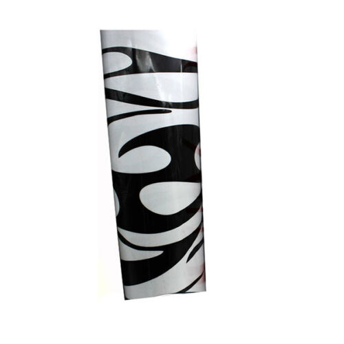 1 pair Graphics Decals Stickers Flame Fire Totem Car Styling side Body Sticker