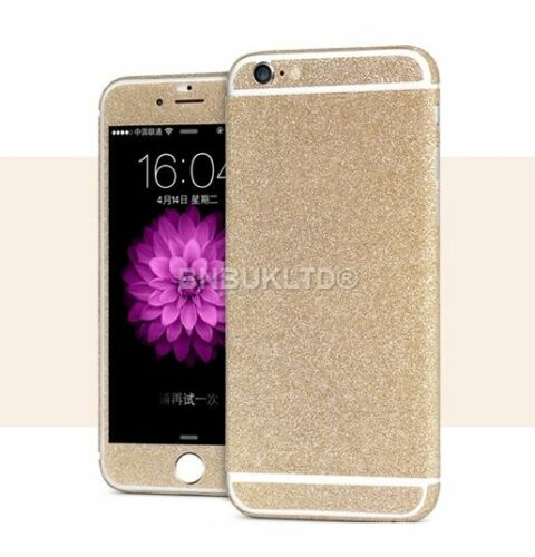 Joblot x 40 champagne wrap bling decal sticker skin cover for iphone 6 6s