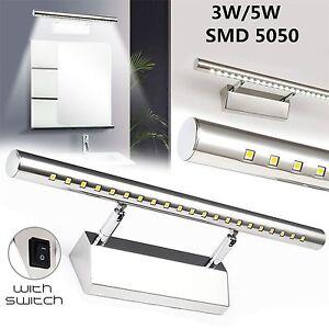 LED-Bathroom-Mirror-Light-Frontal-Makeup-Lampara-de-pared-Aplique-Espejo-Bano