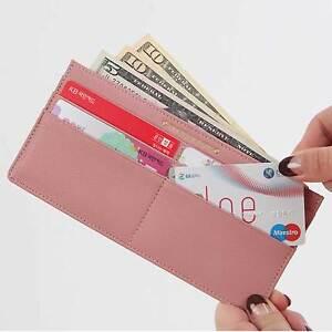 Soft-Genuine-Leather-Card-Holder-Slim-Long-Women-Wallet-Coin-Purse-Clutch-Bag