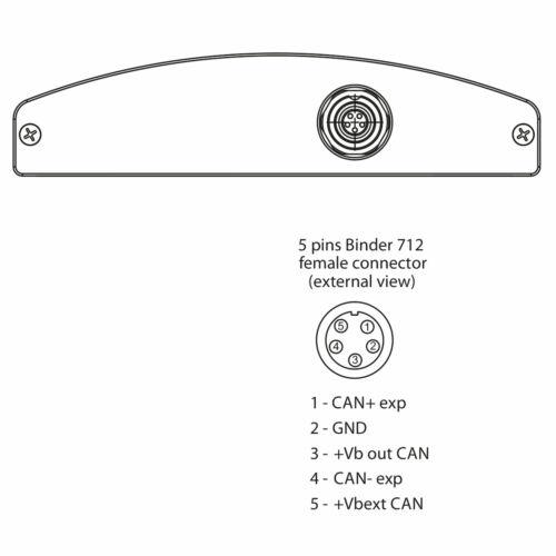 AIM Motorsport Shift Light Module//REV lumière//gear shift Indicator