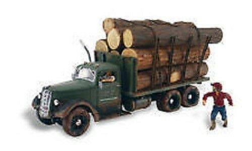Woodland Scenics / AUTO SCENES - Tim Burr Logging HO Scale AS5553