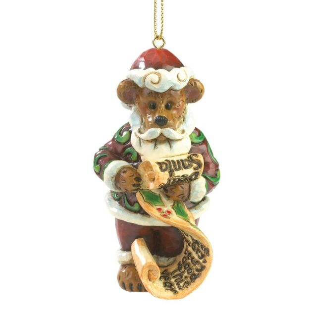 Boyds Bears & Jim Shore Dear Santa Christmas Ornament ...