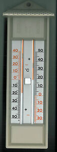 Max-min Thermomètre-intérieur-extérieur-jardin - Thermomètre-serre-maximum-wächshaus-maximum Fr-fr Afficher Le Titre D'origine
