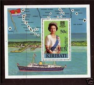 Kiribati 1982 Royal Visit SPECIMEN MS SG196 MNH - Buntingford, Hertfordshire, United Kingdom - Kiribati 1982 Royal Visit SPECIMEN MS SG196 MNH - Buntingford, Hertfordshire, United Kingdom