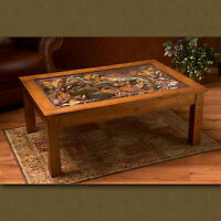 Big Sky Carvers William Herrick Trout Stream Coffee Table Fish Table