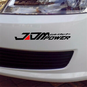 JDM-POWER-Funny-Car-Sticker-Reflective-Window-Headlight-Decal-Emblems-Waterproof