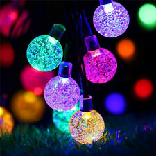 30 LED String Light Outdoor Solar Powered Lamp Garden Yard Path  Landscape Decor
