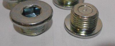 Lot of 4 Genuine Transmission Drain Plugs Toyota 90341-18023  M18-1.5 Thread