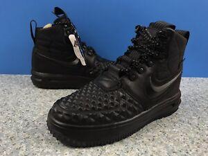 A854G Nike Women s LF1 Lunar Force 1 Duckboot Black AA0283-001 Size ... fb4aa5e250