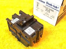 New Challenger Federal Pacific Na215 15 Amp 2 Pole Plug In Breaker 215