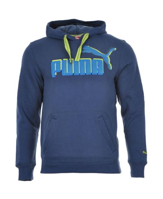 PUMA LOGO HOODED SWEAT FLEECE SUDADERA ORIGINAL 817049 05 (PRECIO EN TIENDA 69E)
