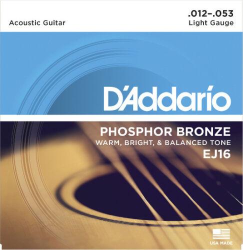 012-053 D´Addario Phosphor Bronze Saiten EJ16