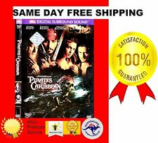 VERY GOOD R1 DVD PIRATES OF THE CARIBBEAN THE CURSE OF THE BLACK PEARL JOHNNY DE