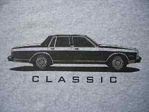 Old Police Cars For Sale >> Caprice Classic T-Shirt, 1985-1990 Box Chevy 1989 1988 | eBay