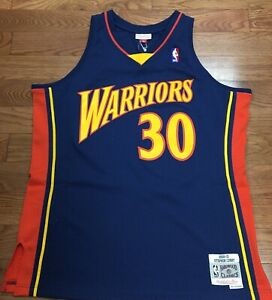 online store 192d9 a3918 Details about Golden State Warriors Stephen Curry Mitchell & Ness Swingman  Jersey