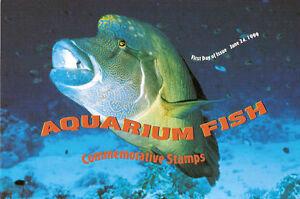 #3317-20 FD Program 33c Aquarium Fish w/ FDC