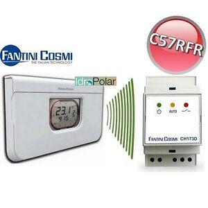 Attuatore radio cronotermostato settimanale c57rfr for Cronotermostato settimanale fantini cosmi c31
