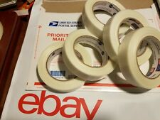 5 Rolls 1 X 60 Yds Fiberglass Reinforced Filament Strapping Packing Tape Clear