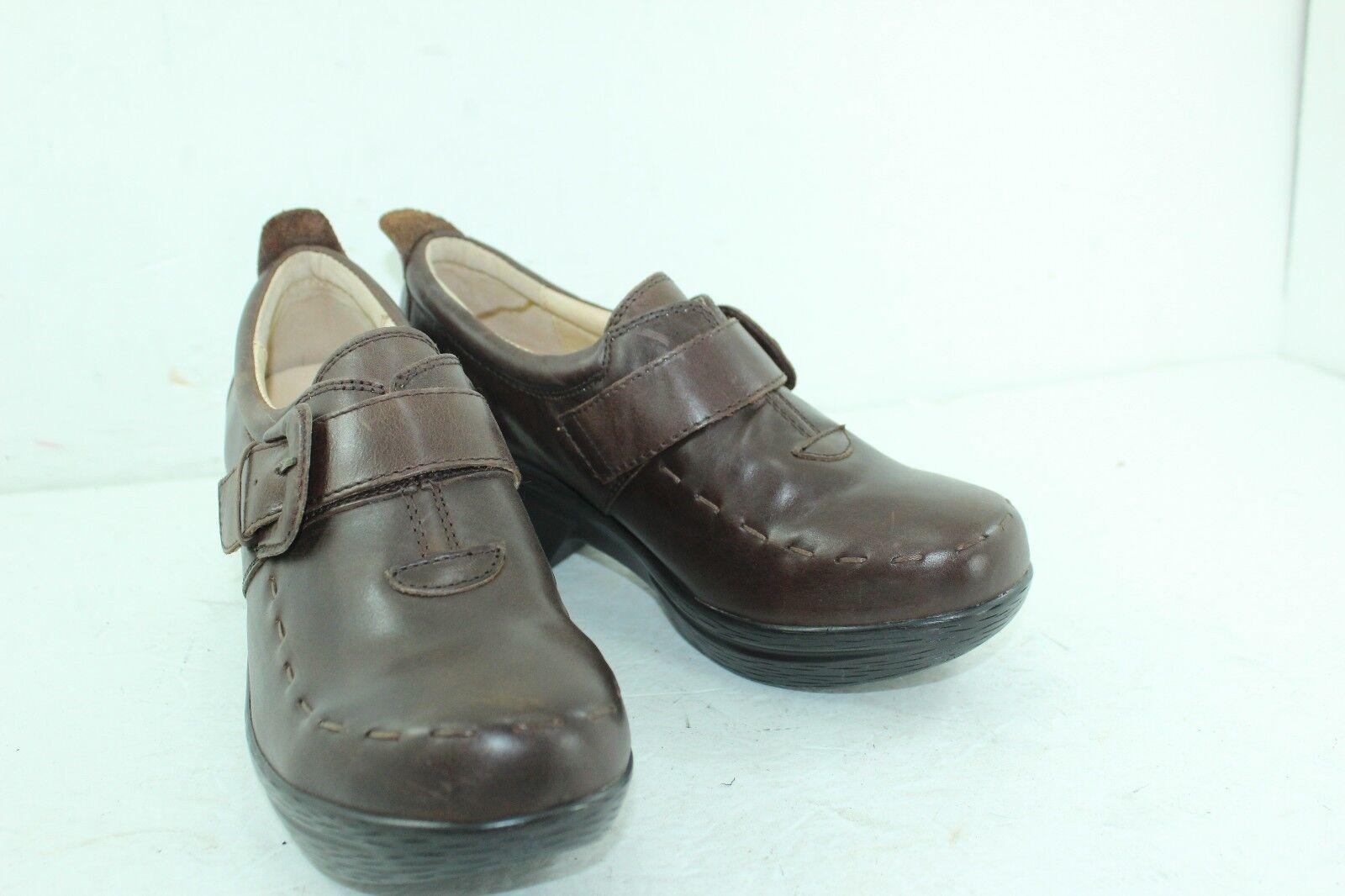 Sanita Professional Professional Professional Nicky Suze 40 marróns Cuero monje para Mujer  tienda de ventas outlet