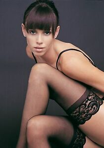 NEW SHEER LACE TOP THIGH HIGH STAY UP STOCKINGS AUSSIE SELLER FREE FAST POST !