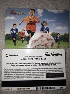 2014 Tim Hortons Gift Card Soccer 2012
