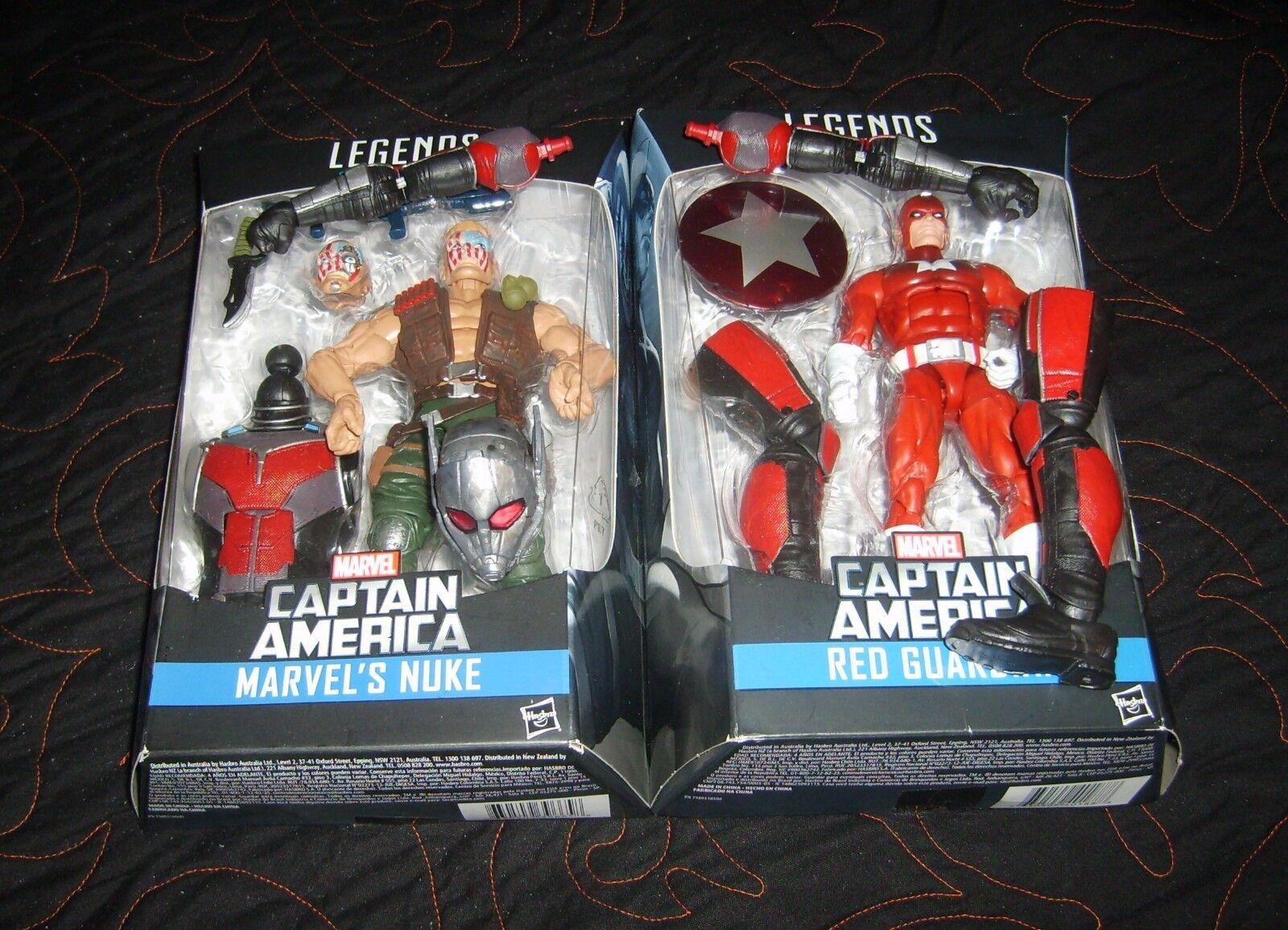 Marvel Leyendas Antman serie 100% Baf bomba Y rosso Guardian.. sin abrir