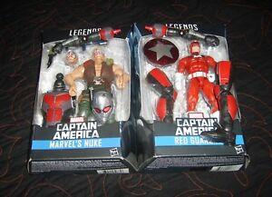 Marvel Legends Antman Series 100% Baf / nuke Et Red Guardian ... non ouvert