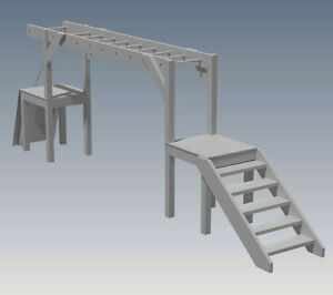 Details About Play Gym Monkey Bars Gym Set Add To Your Cubby House Building Plans V1