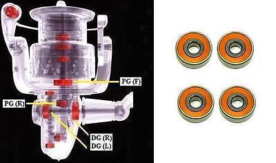 ABEC-7 Hybrid Ceramic Ball Bearings Fits SHIMANO SAROS 4000 FA PINION GEAR